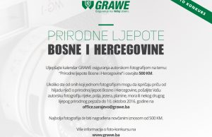 Foto-konkurs Prirodne ljepote Bosne i Hercegovine