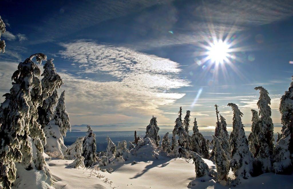 Rezultat slika za snijeg sunce