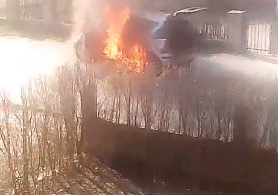vitez požar auto