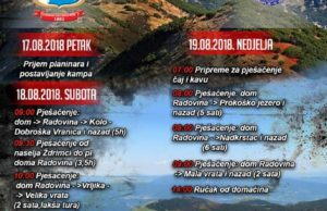 Dani planinara PSHB 2018