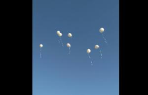 bijeli baloni