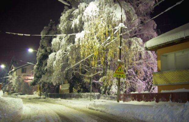 škoal snijeg